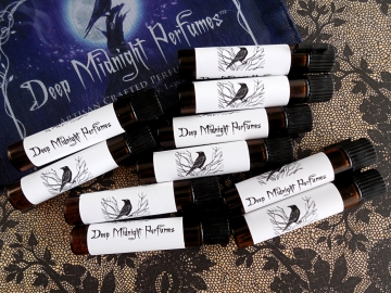 Artisan Perfume Oil SAMPLE Set of 10 - Your Choices -  by Deep Midnight Perfumes™