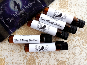 Choose Your Own Perfume SAMPLE Set of 5 Vials by  Deep Midnight Perfumes™