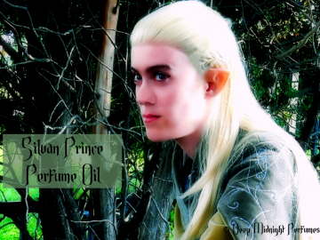 Silvan Prince Perfume Oil: Inspired by LEGOLAS - ancient forests, ivy, galbanum, coriander, sandalwood - The Hobbit - Lord of the Rings