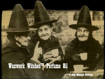 WAXWORK WITCHES™ Perfume Oil - Oak, Dead Leaves, Dust, Rotting Grapes, Stone, Licorice, Apples, Wax - Halloween Perfume - Fall Fragrance