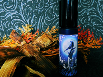 CORN DOLLY™ Perfume Oil - Sweet Corn Husks, Dried Herbs, Oakwood Fire, Amber, Leaves - Gothic Autumn - Fall Fragrance