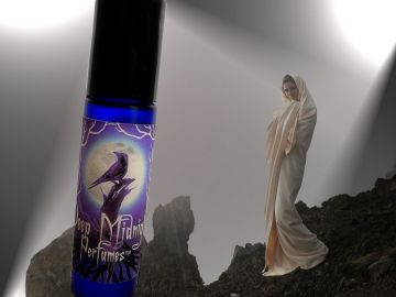 AVALON MYST™ Perfume Oil - Vetiver, Oakmoss, Soft Patchouli, Ivy, Fresh Apple, Soft Florals - Legends of the Grail Perfume - Avalon - King Arthur