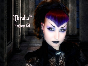 MERULIA™ Perfume Oil - Egyptian Amber, Tobacco, Blackberries, Dark Woods, Smoked Cedarwood - Gothic Perfume - Fantasy Perfume