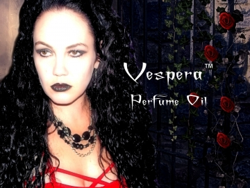 VESPERA™ Perfume Oil - Dark Amber, Jasmine, Damp Soil, Dusty Rose, Dark Woods, Vetiver, Warm Spices