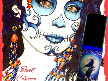 SWEET CALAVERA™ Perfume Oil - Spun Sugar, Spanish Moss, Vanilla, Fig