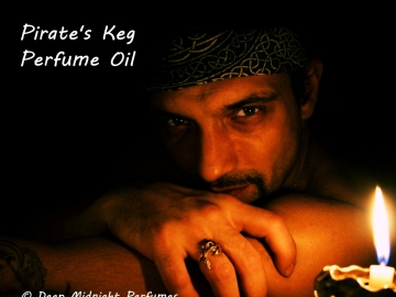 PIRATES' KEG™ Perfume Oil - Bay Rum, Leather, Wild Musk, Coconut, Lime - Pirate Perfume - Black Sails
