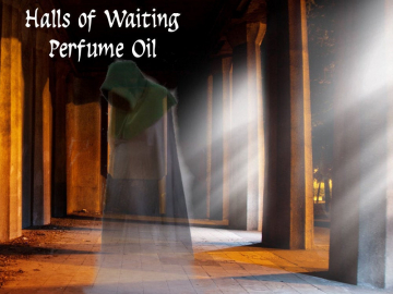 HALLS Of WAITING™ Perfume Oil - Soil, White Flowers, Moss, Copal, Soft Leather - Inspired by The Silmarillion
