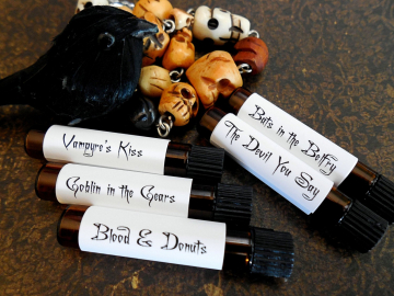 Things that Go Bump in the Night™ Perfume Sampler Set - HALLOWEEN Perfume Sampler Set # 2 - Halloween Perfume