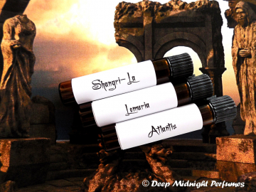 MYSTICAL LANDS™ Perfume Sample Set - Exotic Perfume - Mystical Perfume - Ancient Perfume - Three Sample Vials