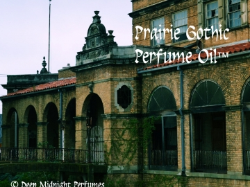 PRAIRIE GOTHIC ™ Perfume Oil - Absinthe, Anise, Tumbleweed, Amber, Patchouli, Wet Concrete, Spring Water, Spirit Accord - Halloween Perfume