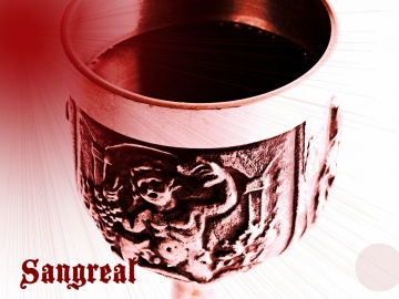 SANGREAL™ PERFUME OIL - Black Roses, Red Roses, Dragon's Blood, Resins, Woods - Gothic Perfume - Medieval Perfume