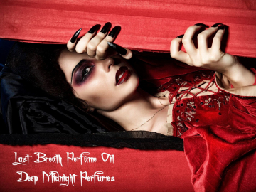 LAST BREATH™ Perfume Oil - Lily of the Valley, Red Roses, White Tea - Victorian Perfume - Gothic Perfume - Vampire Perfume