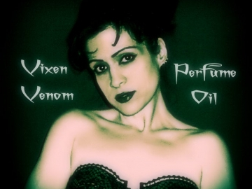 VIXEN VENOM™ Perfume Oil - Amber, Vanilla, Patchouli - Vampire Perfume - Featured in the Throw A True Blood Party Book