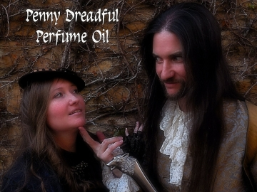 PENNY DREADFUL Perfume Oil - Oak, Mahogany, French Lavender, Moss, Tangled Vines, Ylang Ylang, Ozone, Absinthe