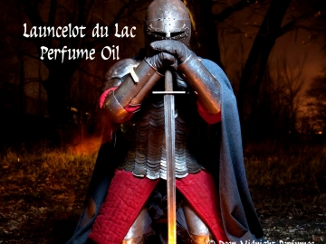 Launcelot du Lac Perfume Oil - Lilies, Spikenard, Leather, Smoky Resins - King Arthur - Merlin