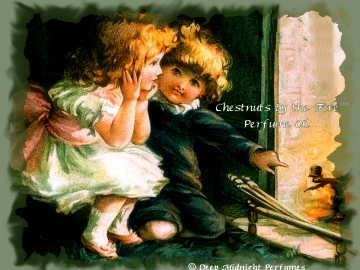 CHESTNUTS by the FIRE™ Perfume Oil - Roasted Chestnuts, Butter, Brown Sugar, Vanilla, Vetiver, Orange, Cedar, Wood Fire - Christmas Perfume