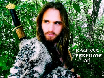 RAGNAR Perfume Oil - Viking Perfume - Cedar, Pine, Fir, Bergamot, Vetiver, Leather Accord, Musk, Ocean - The Vikings - Ragnar Lothbrok