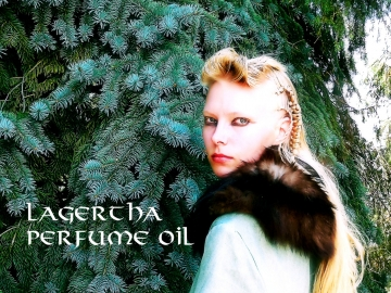 LAGERTHA Perfume Oil - Viking Perfume - Amber, Balsam, Heliotrope, Dark Woods, Lingonberry and Rosemary - The Vikings - Ragnar Lothbrok