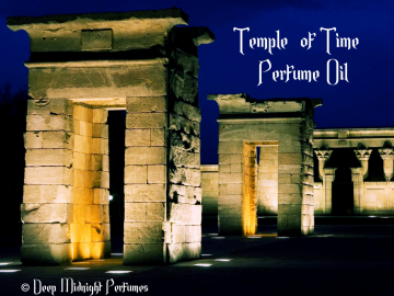 Temple of Time™ Perfume Oil - Chypre Accord, Frankincense, Resins, Cardamom - Fantasy Perfume - Ancient Perfume