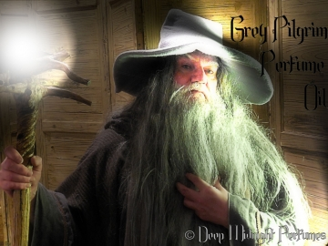 GREY PILGRIM Perfume Oil - Moss, Woods, Stone, Cedar, Leather, Water - Inspired by The Hobbit, Lord of the Rings, Silmarillion