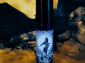 NEW! Goblins and Bats™ Perfume Oil - Fall Leaves, Damp Concrete, Sassafras, Ripe Grapes, Sandalwood, Aged Oak, White Florals - Halloween Perfume - Fall Fragrance
